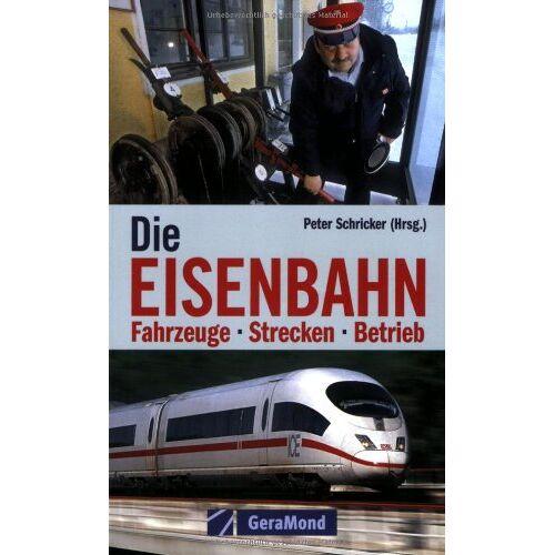 Peter Schricker - Die Eisenbahn. Fahrzeuge - Strecken - Betrieb - Preis vom 22.11.2020 06:01:07 h
