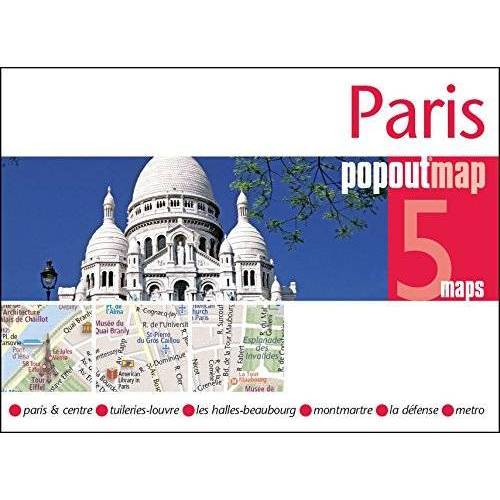 Popout Maps - PopOut Map Paris Double (Popout Maps) - Preis vom 11.05.2021 04:49:30 h