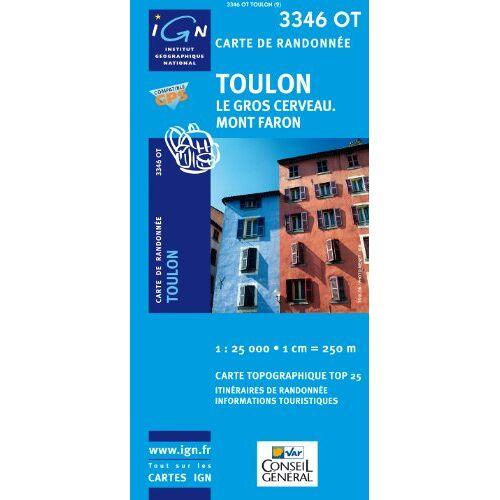 IGN - Toulon 1 : 25 000 - Preis vom 19.01.2021 06:03:31 h