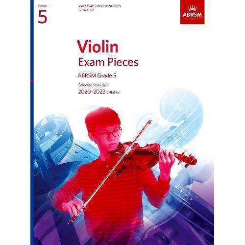 ABRSM - Violin Exam Pieces 2020-2023, ABRSM Grade 5, Score & Part: Selected from the 2020-2023 syllabus (ABRSM Exam Pieces) - Preis vom 28.02.2021 06:03:40 h