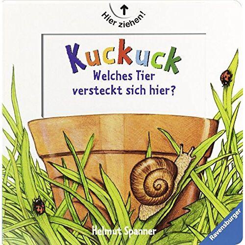 Helmut Spanner - Kuckuck! - Welches Tier versteckt sich hier? - Preis vom 04.09.2020 04:54:27 h