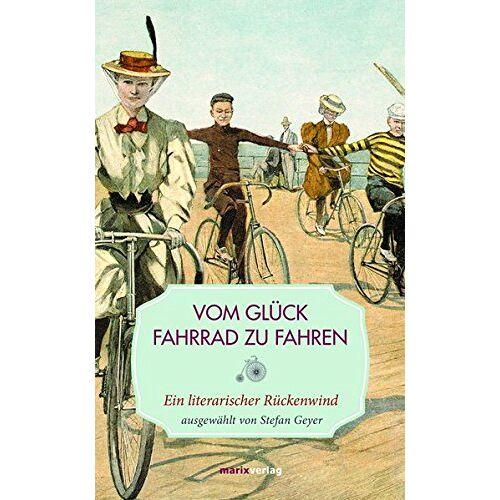 Stefan Geyer - Vom Glück, Fahrrad zu fahren: Ein literarischer Rückenwind (Leinen) - Preis vom 05.05.2021 04:54:13 h