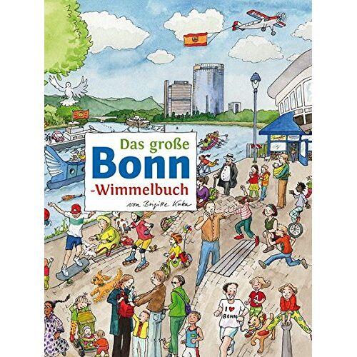 Roland Siekmann - Das große BONN-Wimmelbuch (Städte-Wimmelbücher) - Preis vom 20.09.2020 04:49:10 h