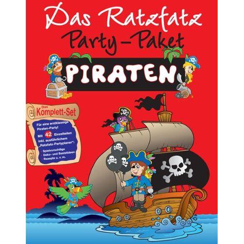 - Ratzfatz Party-Paket Piraten: 7 Einladungskarten, Deko, Basteln - Preis vom 31.03.2020 04:56:10 h