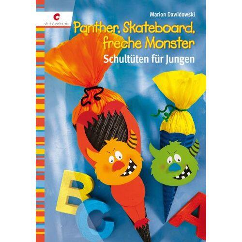 Marion Dawidowski - Panther, Skateboard, freche Monster: Schultüten für Jungen - Preis vom 04.09.2020 04:54:27 h