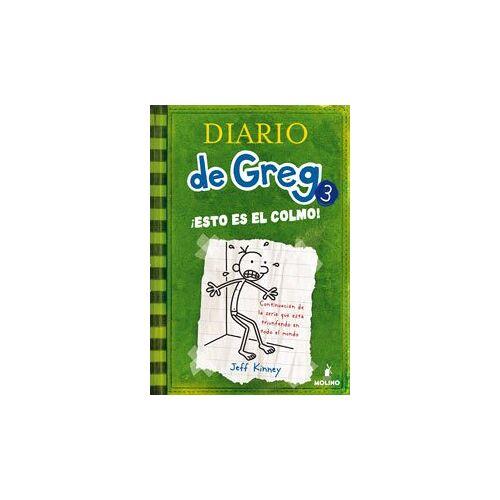 Jeff Kinney - Diario de Greg 3, ¡Esto es el colmo! - Preis vom 11.05.2021 04:49:30 h