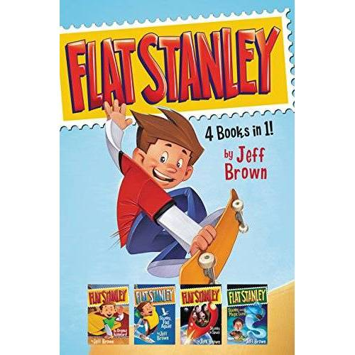 Jeff Brown - Flat Stanley 4 Books in 1!: Flat Stanley, His Original Adventure; Stanley, Flat Again!; Stanley in Space; Stanley and the Magic Lamp - Preis vom 28.02.2021 06:03:40 h