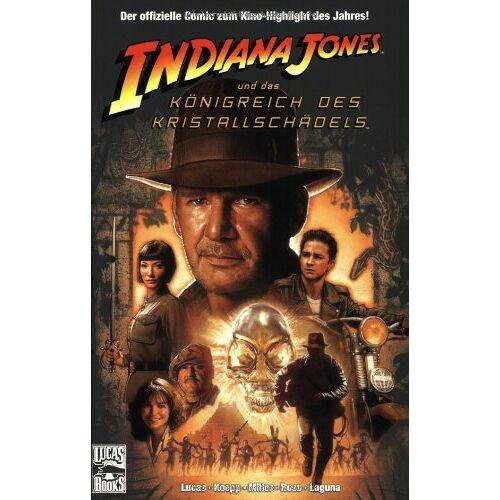 - Indiana Jones Comic, Bd. 1: Indiana Jones und das Königreich des Kristallschädels. Der offizielle Comic zum Film - Preis vom 13.05.2021 04:51:36 h