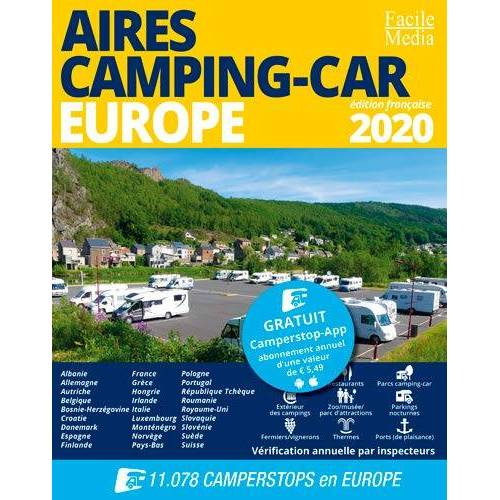 - Aires Camping-Car Europe 2020 (Guide camping-car) - Preis vom 23.02.2021 06:05:19 h