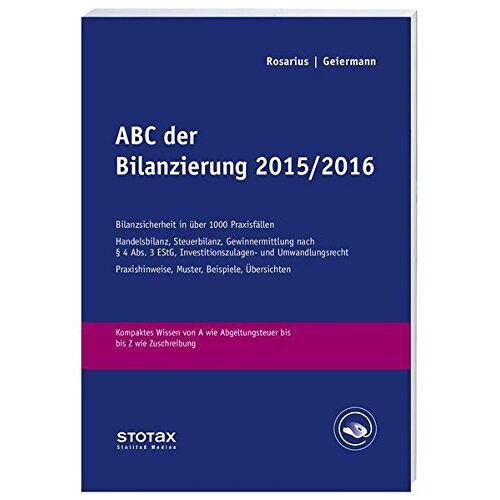 Holm Geiermann - ABC der Bilanzierung 2015/2016 - Preis vom 11.05.2021 04:49:30 h