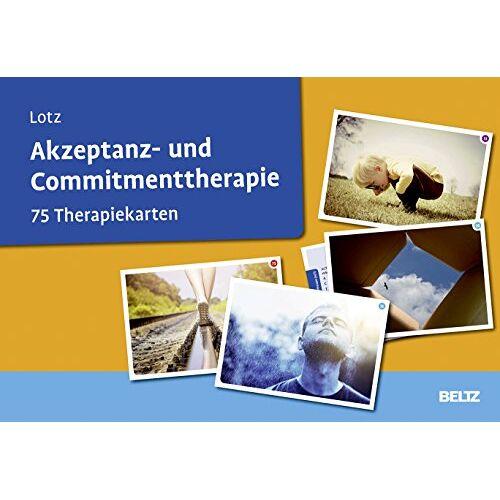 Norbert Lotz - Akzeptanz- und Commitmenttherapie: 75 Therapiekarten. Kartenset mit 75 Karten für die Psychotherapie. Mit 20-seitigem Booklet - Preis vom 24.02.2021 06:00:20 h