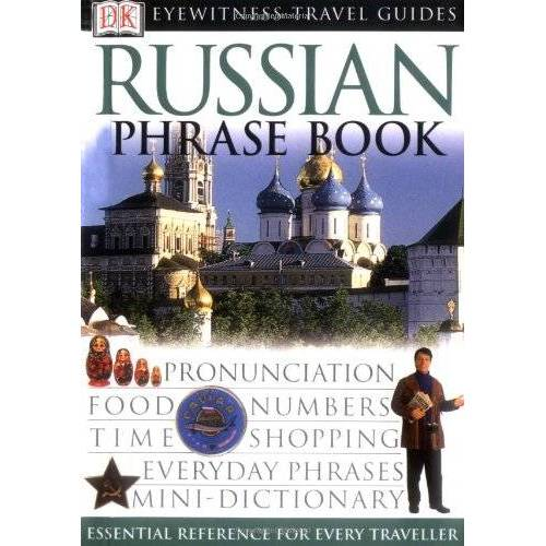 DK - Russian Phrase Book (Eyewitness Travel Guides Phrase Books) - Preis vom 09.07.2020 04:57:14 h