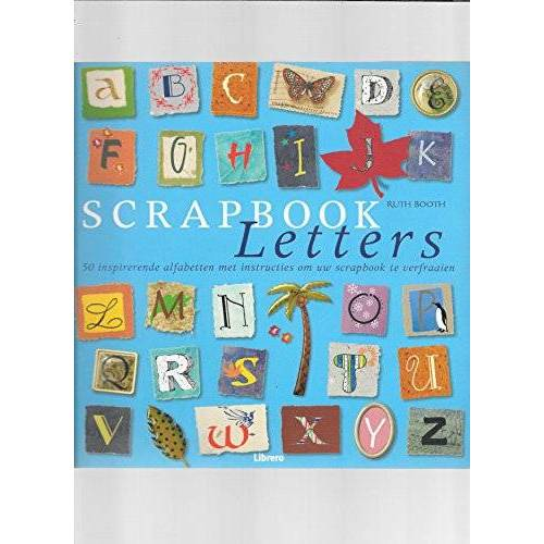 Booth - Scrapbook letters - Preis vom 16.05.2021 04:43:40 h