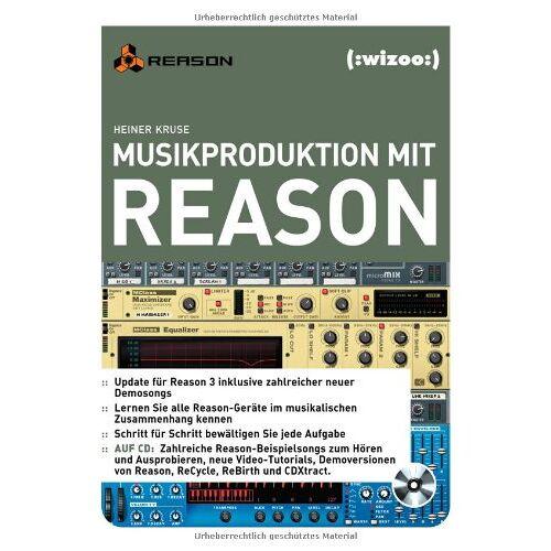 Heiner Kruse - Musikproduktion mit Reason - Preis vom 20.10.2020 04:55:35 h