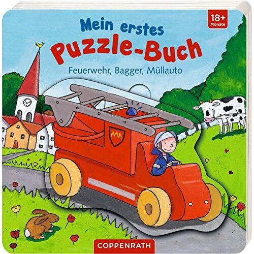 - Mein erstes Puzzle-Buch: Feuerwehr, Bagger, Müllauto - Preis vom 07.05.2021 04:52:30 h