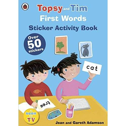 Ladybird - First Words: A Ladybird Topsy and Tim sticker book - Preis vom 16.05.2021 04:43:40 h