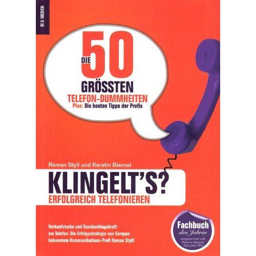 Roman Styll - Klingelt's?: Erfolgreich telefonieren - Preis vom 20.10.2020 04:55:35 h