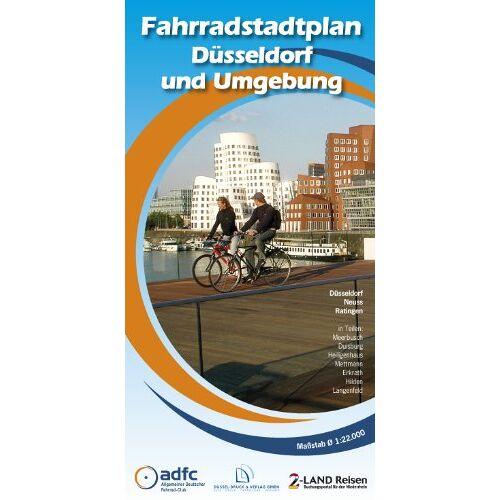 ADFC Düsseldorf - Fahrradstadtplan Düsseldorf und Umgebung - Preis vom 22.06.2020 05:06:30 h
