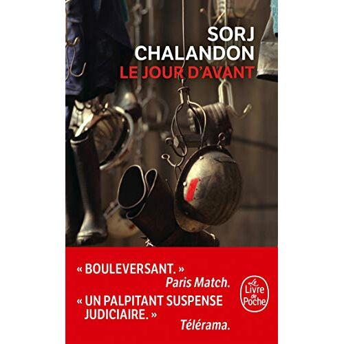 Sorj Chalandon - Le Jour d'avant: Roman - Preis vom 24.02.2021 06:00:20 h