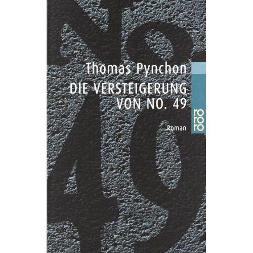 Thomas Pynchon - Die Versteigerung von No. 49 - Preis vom 21.10.2020 04:49:09 h