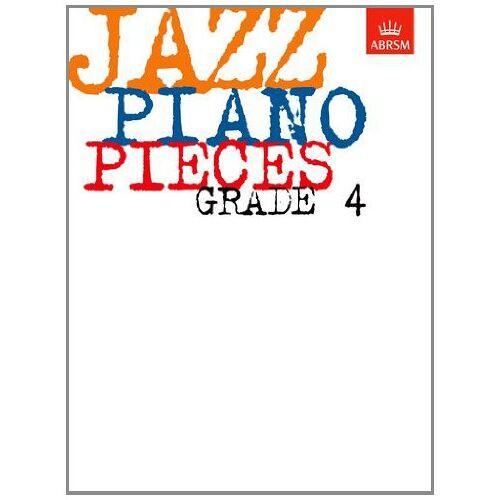 ABRSM - Jazz Piano Pieces, Grade 4 (ABRSM Exam Pieces) - Preis vom 14.01.2021 05:56:14 h