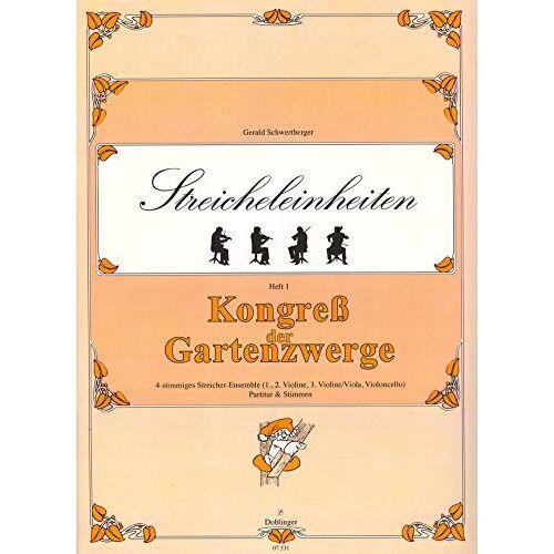 - Kongress der Gartenzwerge Heft 1 für 3 Violine - Preis vom 31.03.2020 04:56:10 h