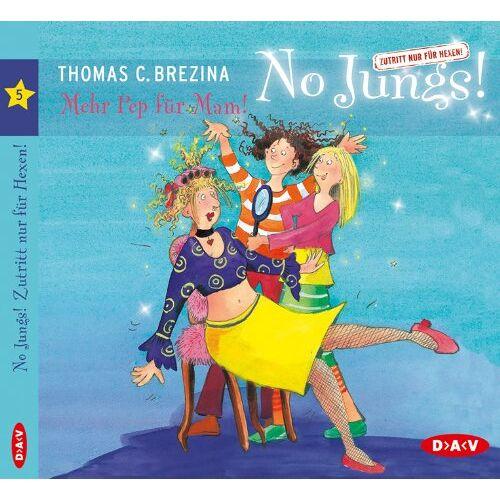 Brezina, Thomas C. - Mehr Pep für Mam!: No Jungs! Band 5 - Preis vom 13.05.2021 04:51:36 h