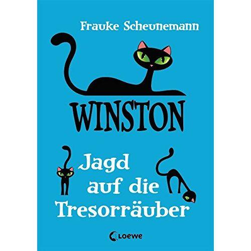 Frauke Scheunemann - Winston - Jagd auf die Tresorräuber - Preis vom 22.01.2020 06:01:29 h