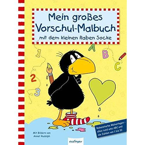- Mein großes Vorschul-Malbuch mit dem kleinen Raben Socke (Der kleine Rabe Socke) - Preis vom 20.10.2020 04:55:35 h