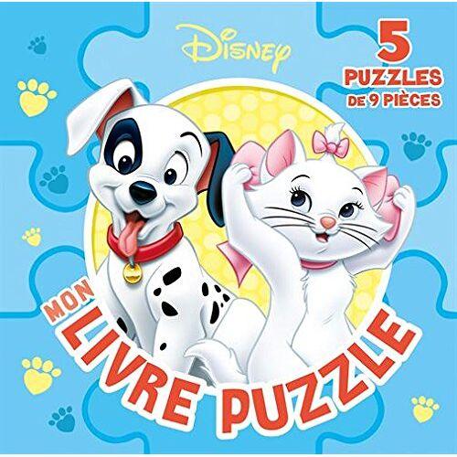 Disney - Mon petit livre puzzle : 5 puzzles de 9 pièces - Preis vom 03.05.2021 04:57:00 h