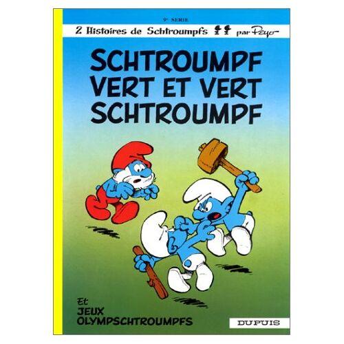 - Schtroumpfs (dupuis) t9 schtroumpf vert et vert schtroumpf - Preis vom 16.04.2021 04:54:32 h
