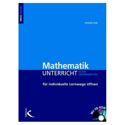 Volker Ulm - Mathematikunterricht für individuelle Lernwege öffnen. mit CD-ROM - Preis vom 13.05.2021 04:51:36 h