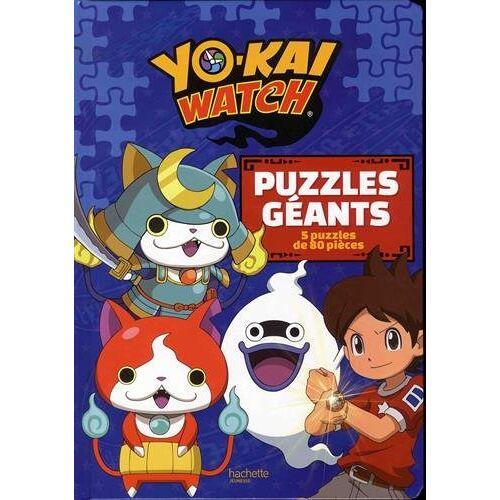 - Yo-Kai Watch Puzzles géants : Avec 5 puzzles de 80 pièces - Preis vom 20.10.2020 04:55:35 h