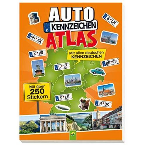 - Autokennzeichenatlas mit über 250 Stickern: Mit allen deutschen Kennzeichen - Preis vom 05.12.2019 05:59:52 h