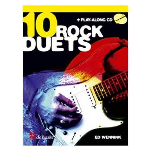 Ed Wennink - 10 Rock Duets (+Playalong CD) : für E-Gitarre mit opt. 3.Stimme für Rhythmusgitarre - Preis vom 09.04.2021 04:50:04 h