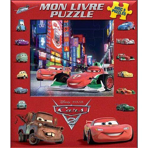 Disney - Mon livre puzzle Cars 2 - Preis vom 14.04.2021 04:53:30 h