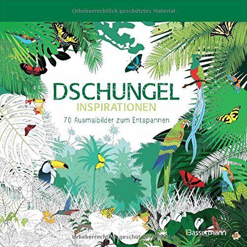 - Dschungel-Inspirationen: 70 Ausmalbilder zum Entspannen. Ausmalbuch für Erwachsene. - Preis vom 22.01.2020 06:01:29 h