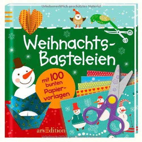 - Weihnachtsbasteleien mit 100 bunten Papiervorlagen - Preis vom 24.01.2021 06:07:55 h