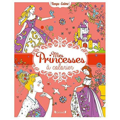 Quitterie de Castelbajac - Mes princesses à colorier - Preis vom 05.09.2020 04:49:05 h