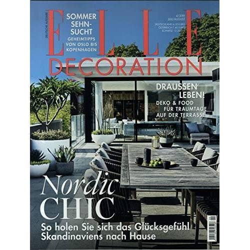 Elle Decoration - Elle Decoration 4/2019 Nordic Chic - Preis vom 27.02.2021 06:04:24 h