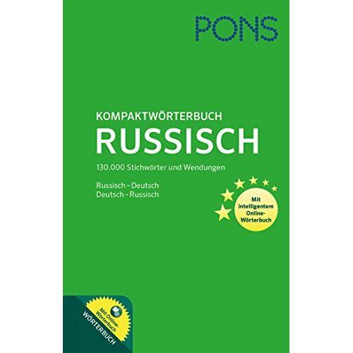 - PONS Kompaktwörterbuch Russisch: Russisch-Deutsch / Deutsch-Russisch. Mit intelligentem Online-Wörterbuch. - Preis vom 12.05.2021 04:50:50 h