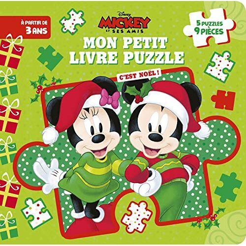 - Mon petit livre puzzle Mickey et ses amis : C'est Noël ! - Preis vom 27.02.2021 06:04:24 h