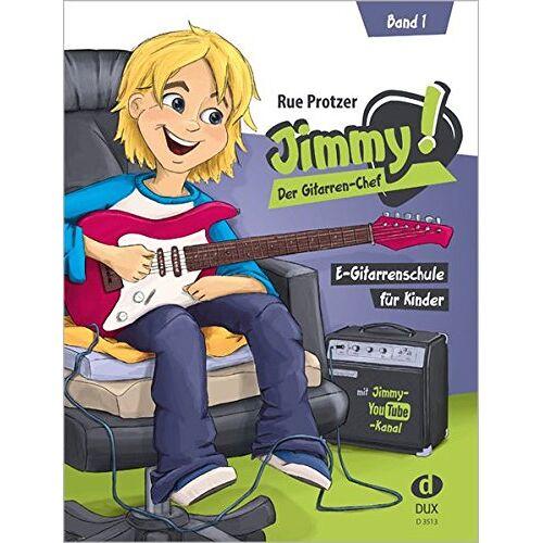 - Jimmy! Der Gitarren-Chef Band 1: E-Gitarrenschule für Kinder - Preis vom 22.01.2021 05:57:24 h