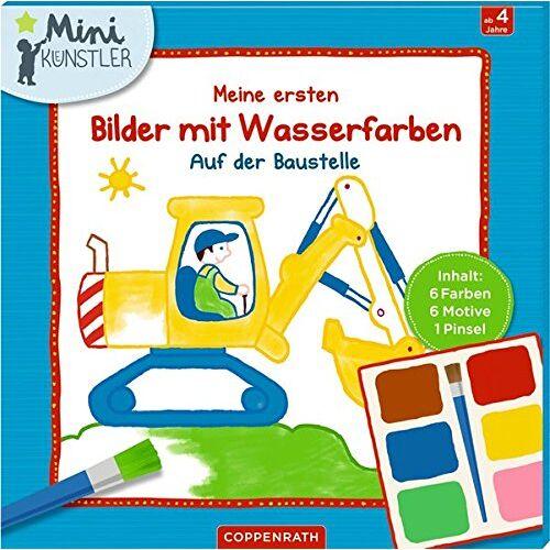 - Meine ersten Bilder mit Wasserfarben: Auf der Baustelle (Mini-Künstler) - Preis vom 18.09.2019 05:33:40 h