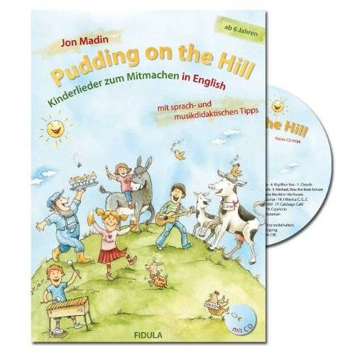 Jon Madin - Pudding on the Hill, m. Audio-CD - Preis vom 13.05.2021 04:51:36 h