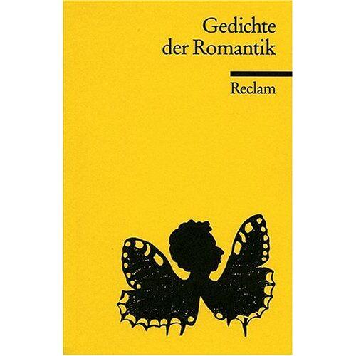 Wolfgang Frühwald - Gedichte der Romantik - Preis vom 20.10.2020 04:55:35 h