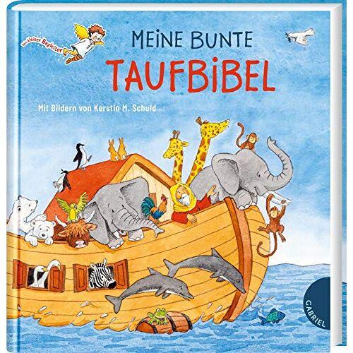 Dörte Beutler - Meine bunte Taufbibel:   Schönes Taufgeschenk, mit Widmungsseite für das Taufkind (Dein kleiner Begleiter) - Preis vom 09.05.2021 04:52:39 h