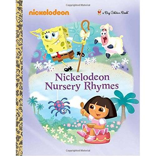 Golden Books - Nickelodeon Nursery Rhymes (Nickelodeon) (Big Golden Book) - Preis vom 21.10.2020 04:49:09 h