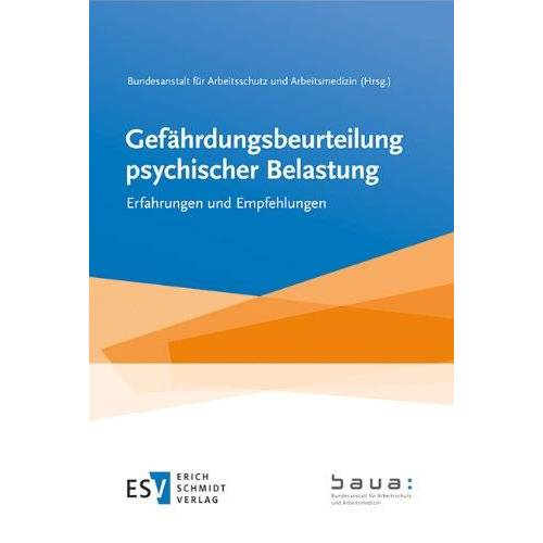Bundesanstalt für Arbeitsschutz und Arbeitsmedizin - Gefährdungsbeurteilung psychischer Belastung: Erfahrungen und Empfehlungen - Preis vom 10.05.2021 04:48:42 h