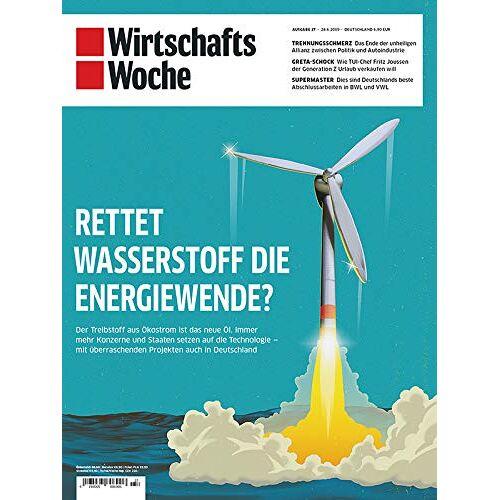 WirtschaftsWoche - Wirtschaftswoche Titel 27/2019 Energiewende? - Preis vom 20.10.2020 04:55:35 h